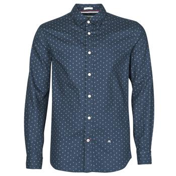 衣服 男士 長袖襯衫 Pepe jeans ADAN 海藍色