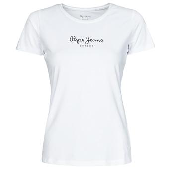 衣服 女士 短袖体恤 Pepe jeans NEW VIRGINIA 白色