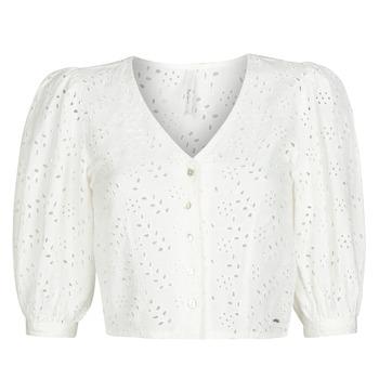 衣服 女士 女士上衣/罩衫 Pepe jeans CLAUDIE 白色