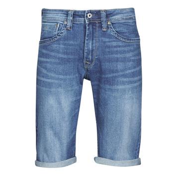 衣服 男士 短裤&百慕大短裤 Pepe jeans CASH 蓝色 / Edium