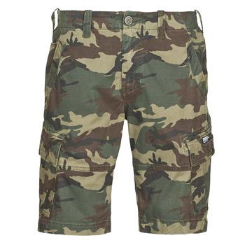 衣服 男士 短裤&百慕大短裤 Superdry 极度干燥 CORE CARGO SHORTS 奶油色