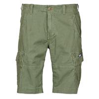衣服 男士 短裤&百慕大短裤 Superdry 极度干燥 CORE CARGO SHORTS 橄榄色