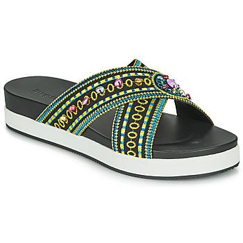 鞋子 女士 休闲凉拖/沙滩鞋 Desigual SHOES_NILO_BEADS 黑色