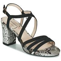 鞋子 女士 凉鞋 Metamorf'Ose GABARIT 黑色 / Python