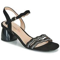 鞋子 女士 凉鞋 Metamorf'Ose GABERNIK 黑色