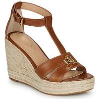 鞋子 女士 凉鞋 Lauren Ralph Lauren HALE ESPADRILLES CASUAL 棕色