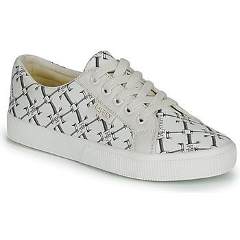 鞋子 女士 球鞋基本款 Lauren Ralph Lauren JAYCEE NE SNEAKERS VULC 奶油色