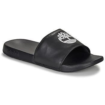 鞋子 休闲凉拖/沙滩鞋 Timberland 添柏岚 PLAYA SANDS SPORTS SLIDE 黑色