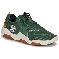 鞋子 男士 球鞋基本款 Timberland 添柏岚 EARTH RALLY FLEXIKNIT OX 绿色