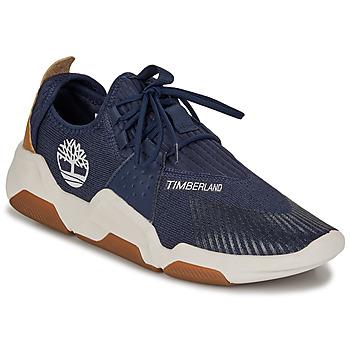 鞋子 男士 球鞋基本款 Timberland 添柏岚 EARTH RALLY FLEXIKNIT OX 蓝色