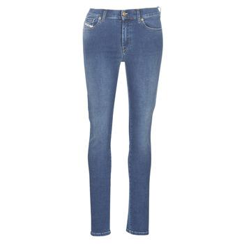 衣服 女士 紧身牛仔裤 Diesel 迪赛尔 D-ROISIN 蓝色