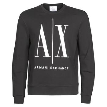 衣服 男士 卫衣 Armani Exchange HELIX 黑色