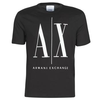 衣服 男士 短袖体恤 EMPORIO ARMANI EAX HULO 黑色