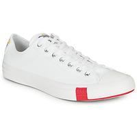 鞋子 球鞋基本款 Converse 匡威 CHUCK TAYLOR ALL STAR LOGO STACKED - OX 白色