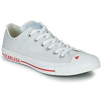 鞋子 女士 球鞋基本款 Converse 匡威 CHUCK TAYLOR ALL STAR LOVE CANVAS - OX 白色 / 红色