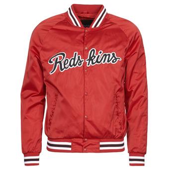 衣服 男士 夹克 Redskins LAYBACK SWISH 红色