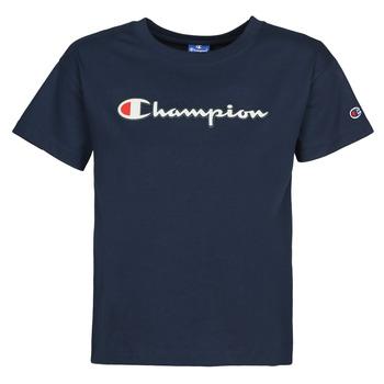 衣服 女士 短袖体恤 Champion KOOLATE 海蓝色