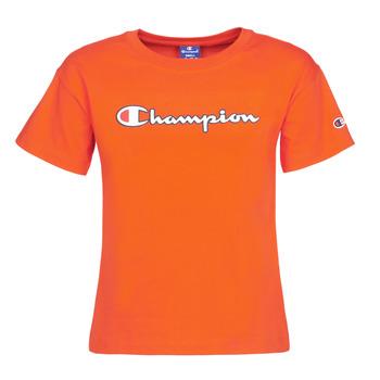 衣服 女士 短袖體恤 Champion KOOLATE 紅色