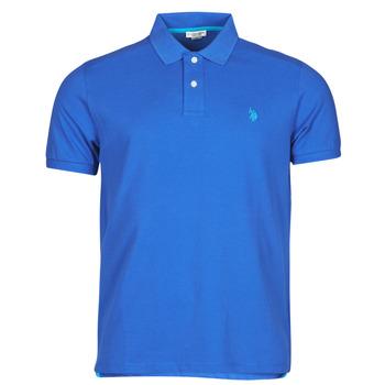 衣服 男士 短袖保罗衫 U.S Polo Assn. 美国马球协会 INSTITUTIONAL POLO 蓝色