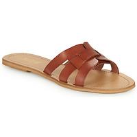 鞋子 女士 休闲凉拖/沙滩鞋 So Size MELINDA 驼色