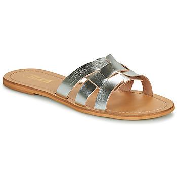 鞋子 女士 休闲凉拖/沙滩鞋 So Size MELINDA 银色