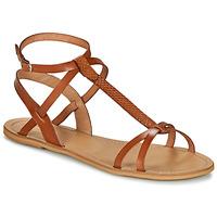 鞋子 女士 凉鞋 So Size BEALO 驼色