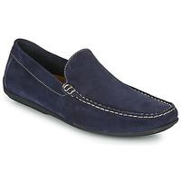 鞋子 男士 皮便鞋 So Size MIJI 海蓝色