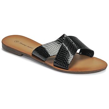 鞋子 女士 休闲凉拖/沙滩鞋 Moony Mood MADISON 黑色