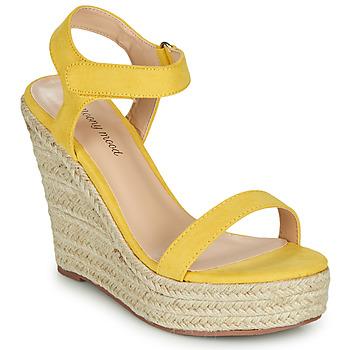 鞋子 女士 凉鞋 Moony Mood MARTA 黄色