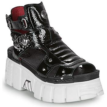 鞋子 女士 涼鞋 New Rock LIYA 黑色 / 白色