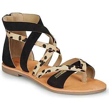 鞋子 女士 凉鞋 Les Tropéziennes par M Belarbi POPS 黑色 / Leopard