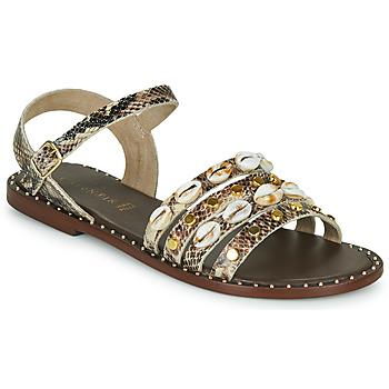 鞋子 女士 凉鞋 Café Noir MIRADO 棕色