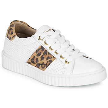 鞋子 女孩 球鞋基本款 Bullboxer LORIS 白色 / Leopard