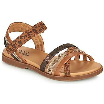 鞋子 女孩 凉鞋 Bullboxer ELYSA 棕色