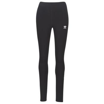 衣服 女士 紧身裤 Adidas Originals 阿迪达斯三叶草 Tights black 黑色