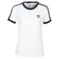 衣服 女士 短袖体恤 Adidas Originals 阿迪达斯三叶草 3 STR TEE 白色
