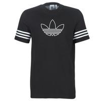 衣服 男士 短袖体恤 Adidas Originals 阿迪达斯三叶草 OUTLINE TEE 黑色