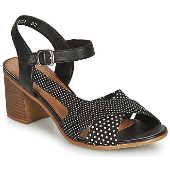 鞋子 女士 凉鞋 Remonte MOSKI 黑色 / 白色