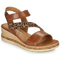 鞋子 女士 凉鞋 Remonte HERNENDEZ 棕色 / Leopard