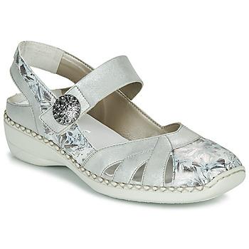 鞋子 女士 凉鞋 Rieker 瑞克尔 KYLIAN 银灰色