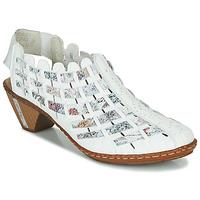 鞋子 女士 短靴 Rieker 瑞克尔 KANIN 白色 / 多彩