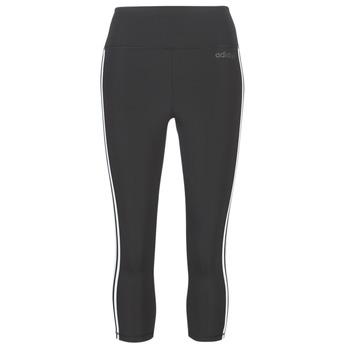 衣服 女士 紧身裤 adidas Performance 阿迪达斯运动训练 D2M 3S 34 TIG 黑色