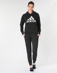 衣服 女士 厚裤子 adidas Performance 阿迪达斯运动训练 E LIN PANT 黑色