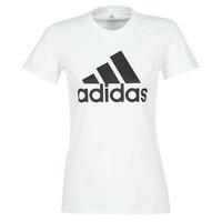 衣服 女士 短袖体恤 adidas Performance 阿迪达斯运动训练 BOS CO TEE 白色
