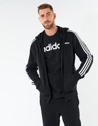 衣服 男士 卫衣 adidas Performance 阿迪达斯运动训练 E 3S FZ FT 黑色