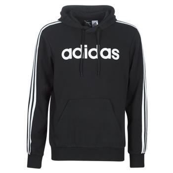衣服 男士 卫衣 adidas Performance 阿迪达斯运动训练 E 3S PO FL 黑色