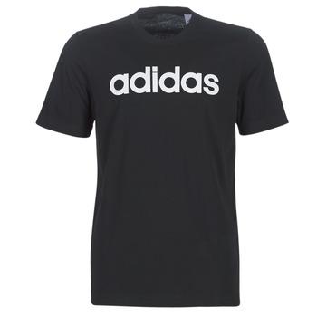 衣服 男士 短袖体恤 adidas Performance 阿迪达斯运动训练 E LIN TEE 黑色
