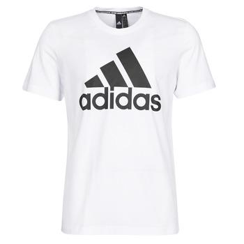 衣服 男士 短袖体恤 adidas Performance 阿迪达斯运动训练 MH BOS Tee 白色