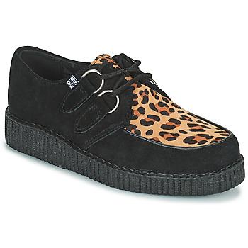 鞋子 德比 TUK LOW FLEX ROUND TOE CREEPER 黑色 / Leopard