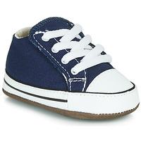 鞋子 兒童 高幫鞋 Converse 匡威 CHUCK TAYLOR FIRST STAR CANVAS HI 藍色